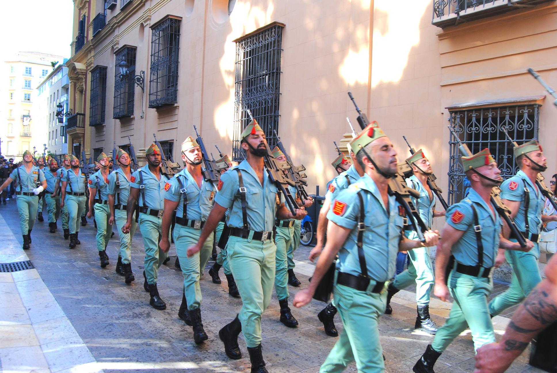 jueves santo malaga legión
