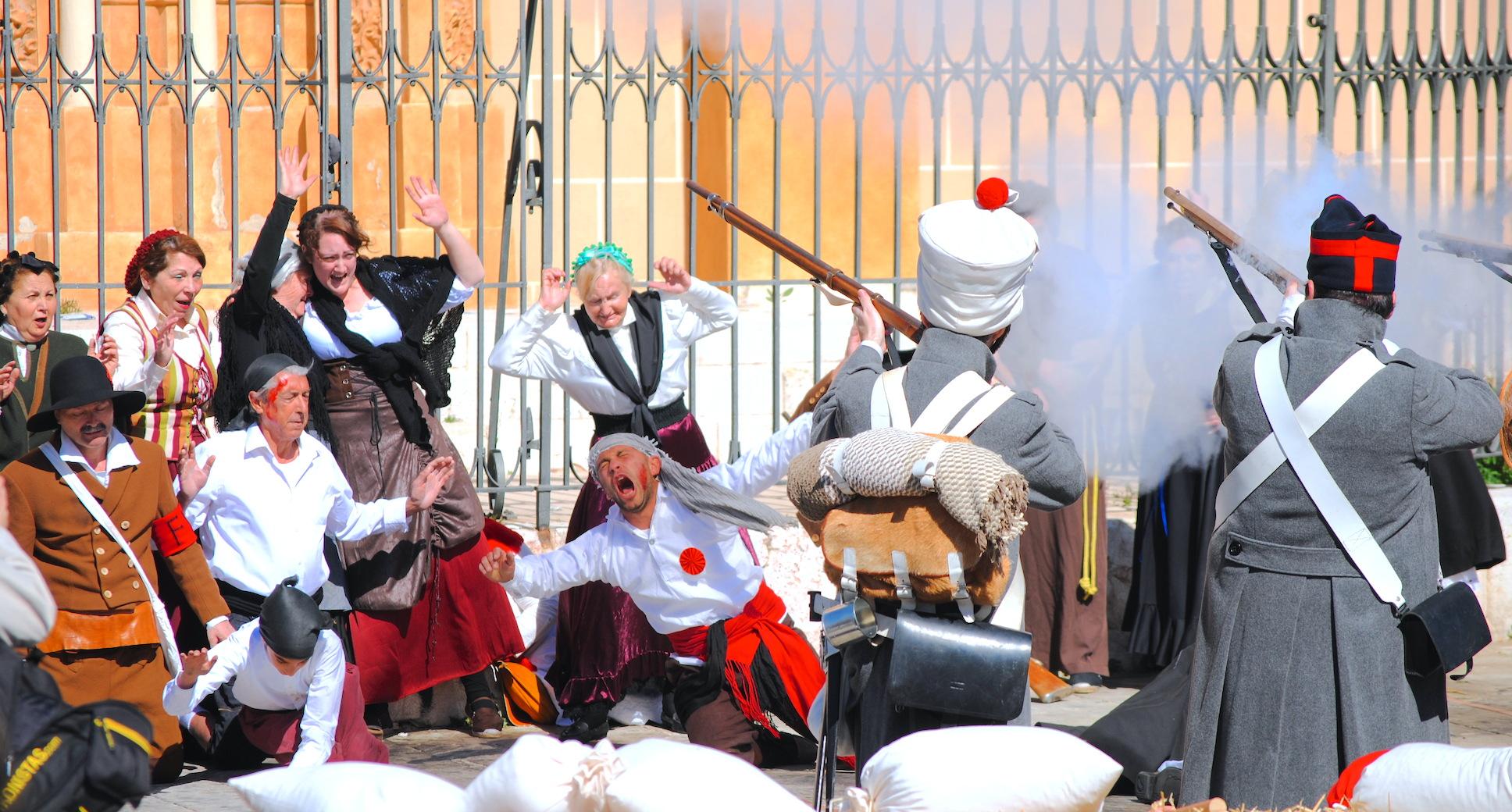 napoleón malaga recreación histórica