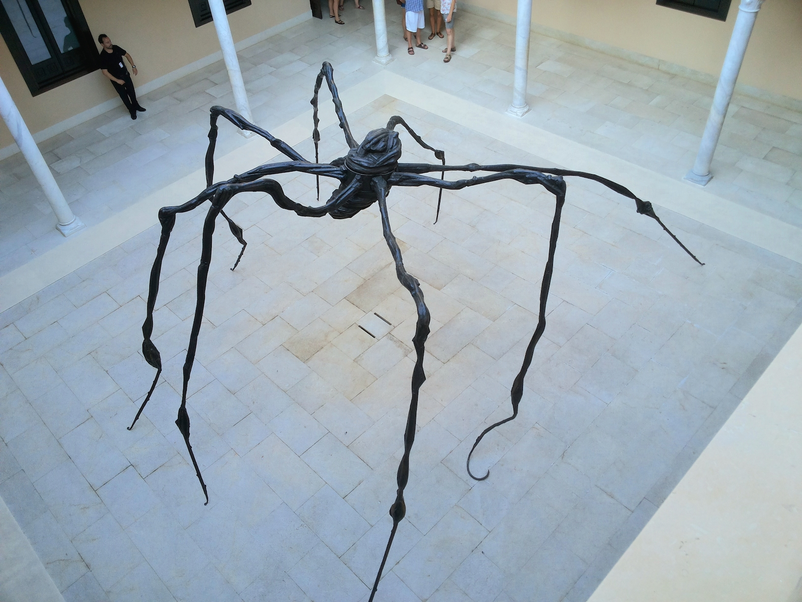 louise bourgeois museo picasso malaga spider