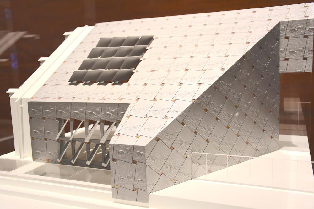 customs house roof model malaga museum