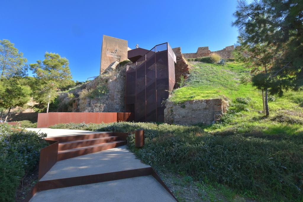 staircase alcazaba malaga