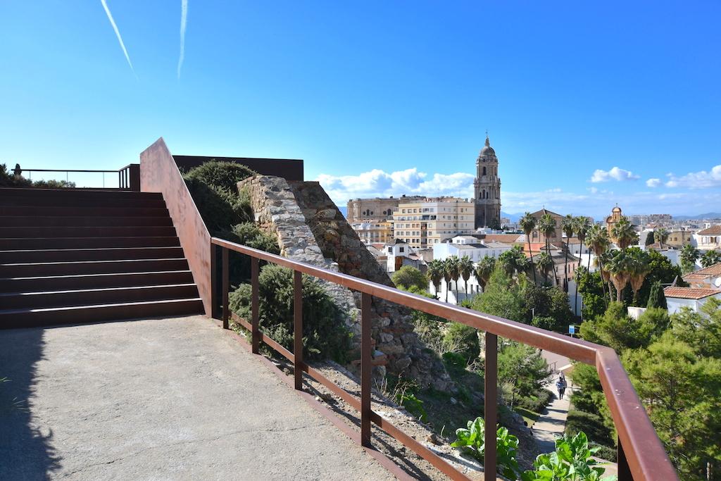 view malaga promenade viewpoints alcazaba