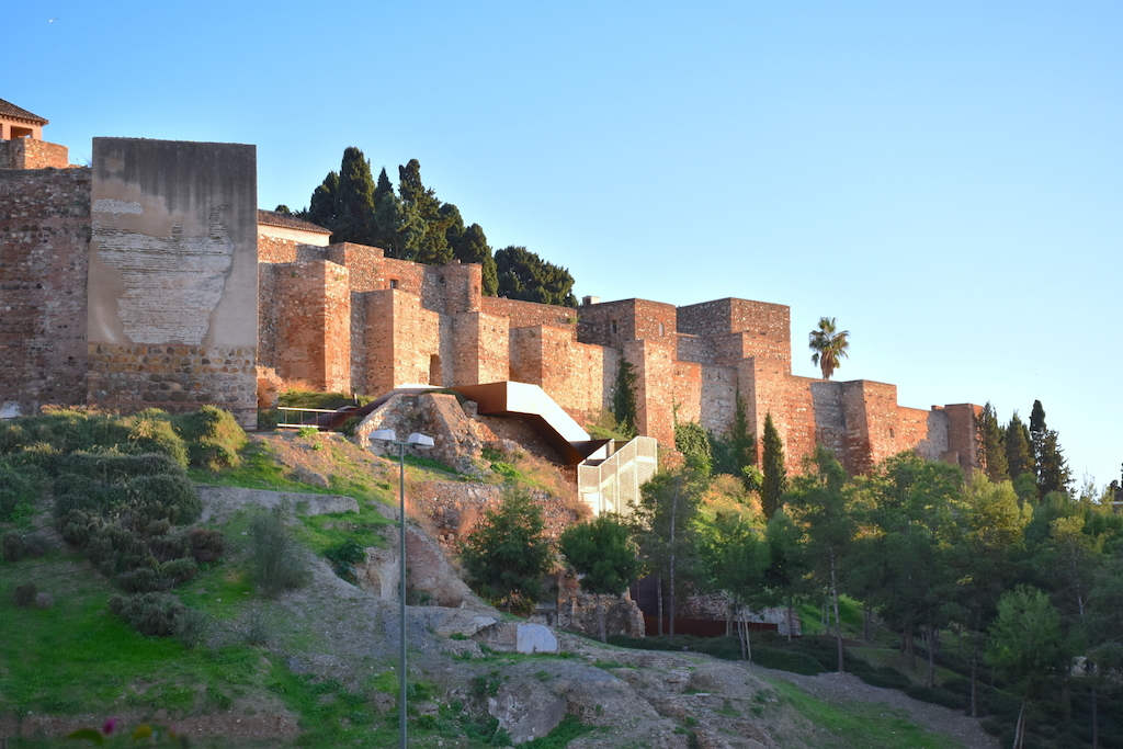 new tourist attraction in Malaga alcazaba viewpoint