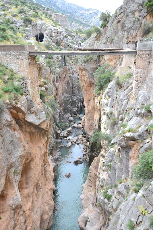 puente del rey caminito del rey malaga