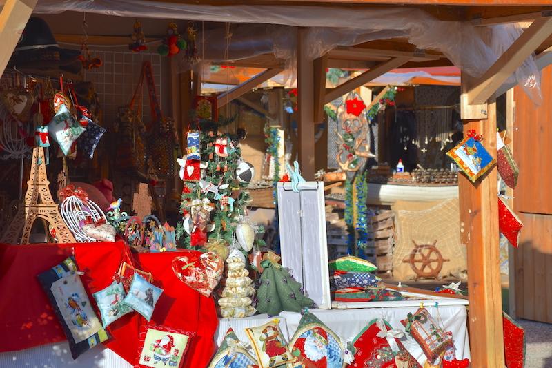 mercado navideño malaga puerto