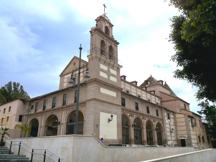 Façade église Victoire Victoria malaga